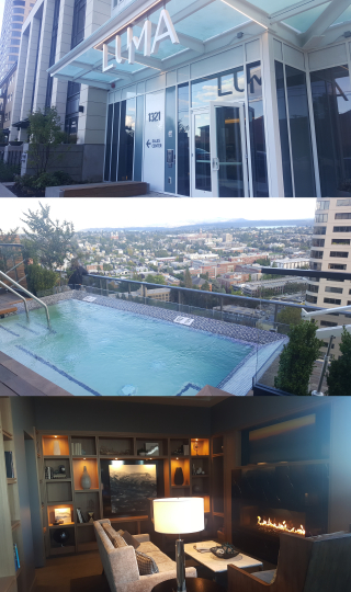 Luma Condominiums Started Closing this Week and Had Rooftop Sunset Party Last Night!