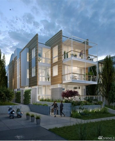New Seattle Condos: The Odessa - New 3 Unit Condominium Building in Madison Park