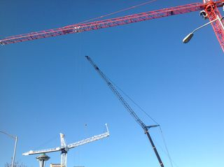 Wondering What All the Cranes Are Building in Downtown Seattle?