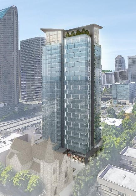New Seattle Condos: Trinity Parish Tower in First Hill Will be Condos