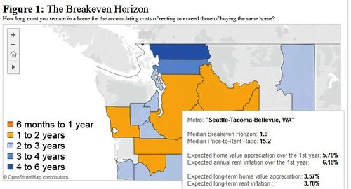 Seattle Condo Market: Zillow's Breakeven Horizon for Rent vs. Buy