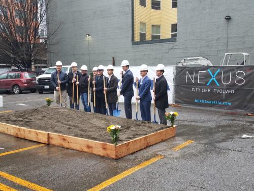 New Seattle Condos: NEXUS Condomiuniums Ground Breaking