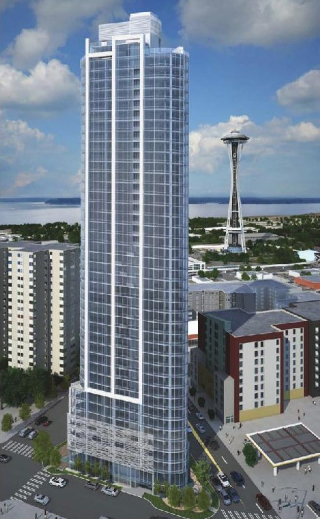 Tower Near Space Needle Will be Condos & Named Spire