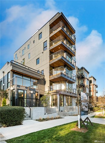 New Seattle Condominiums in Queen Anne - 210 Comstock