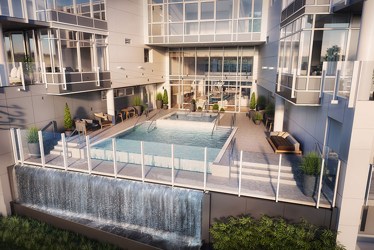 Infinity Shore Club Residences Condo Building in Alki