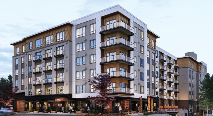 New Construction Jade Condominiums in Kirkland