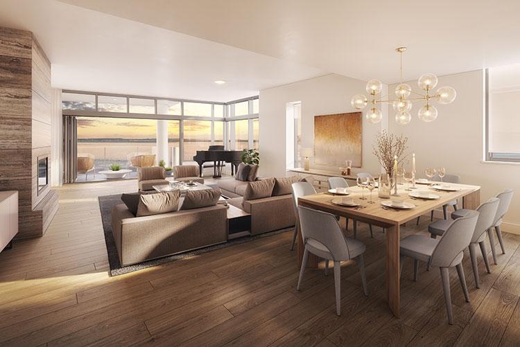 New Seattle Condos: Infinity Shore Club Residences Condo Building in Alki